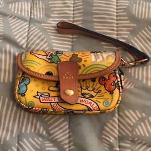 Disney Dooney & Bourke wristlet AUTHENTIC